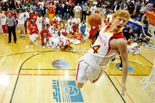 Chase Budinger, pictures, picture, photos, photo, pics, pic, images, image, dunking, slam dunks, McDonald's All-Star Game, Arizona Wildcats, NBA
